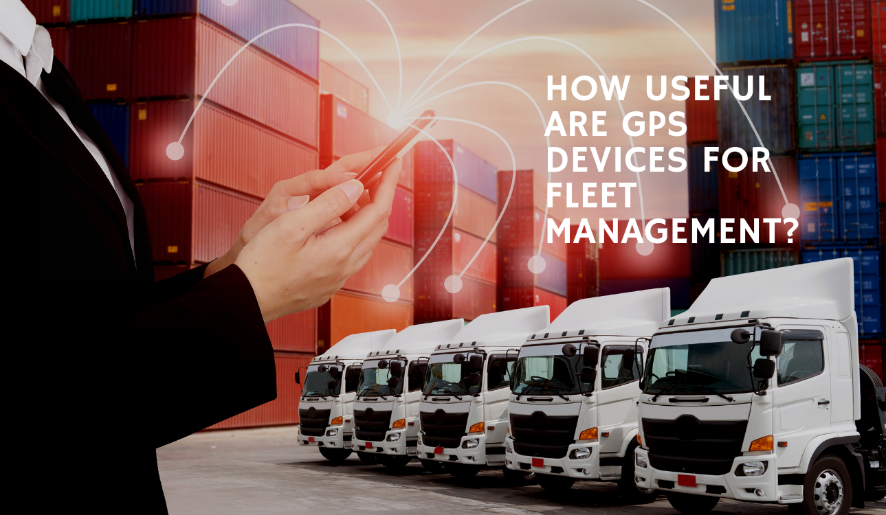 blog title image How Useful Are GPS Devices for Fleet Management?