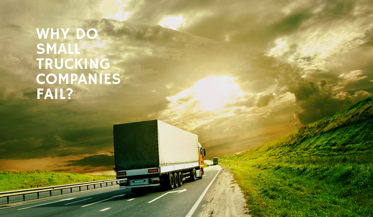 blog title graphic Why Do Small Trucking Companies Fail? (How GPS Tracking Helps)